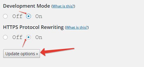 Option CloudFlare plugin for wordpress